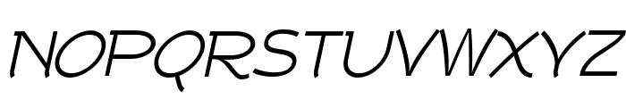 Tork-Italic Font UPPERCASE
