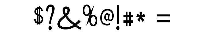 Tork-Regular Font OTHER CHARS