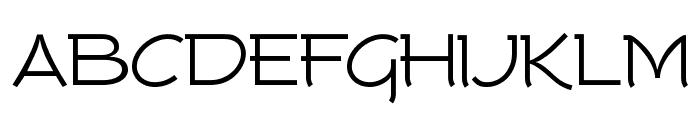 Tork-Regular Font UPPERCASE