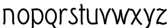 Tork-Regular Font LOWERCASE