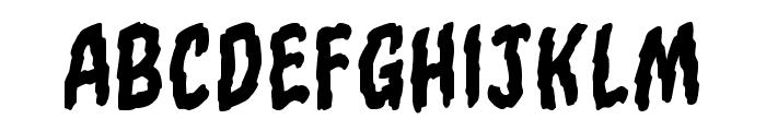 Torn Asunder BB Regular Font LOWERCASE
