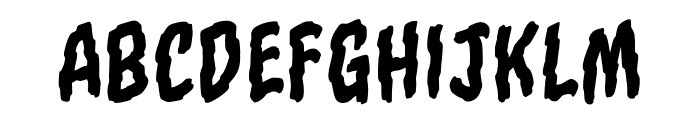 TornAsunderBB-Regular Font UPPERCASE