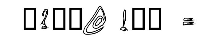 TornUpAndLovingIt Font OTHER CHARS
