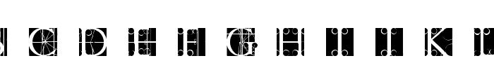TornielloInitials Font LOWERCASE