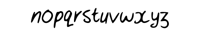 Toro1 Font LOWERCASE