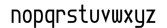 Torquemada Starved Unicode Font LOWERCASE