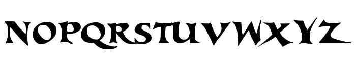 Tortuga Font UPPERCASE