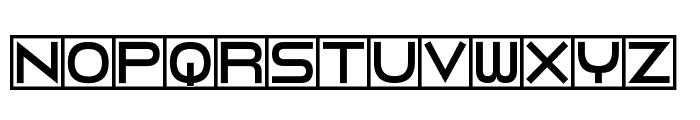 Torturer Bound Font UPPERCASE