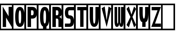 Torturer Crushed Font UPPERCASE