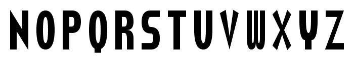 Torturer Crushed Font LOWERCASE
