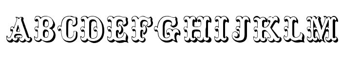 ToskanischeEgyptienneInitialen Font UPPERCASE