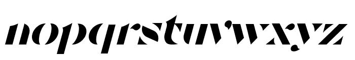 Tostada Italic Font LOWERCASE
