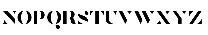 Tostada Regular Font UPPERCASE