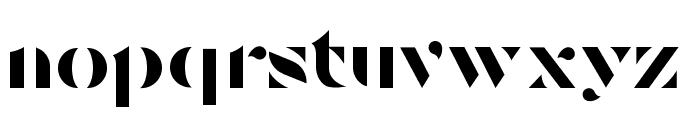 Tostada Regular Font LOWERCASE