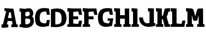 TotShrift-Bold Bold Font UPPERCASE