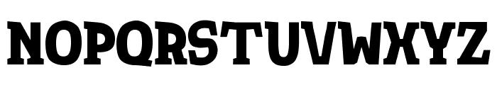 TotShrift-Bold Bold Font LOWERCASE