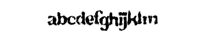 TotalFreak Font LOWERCASE