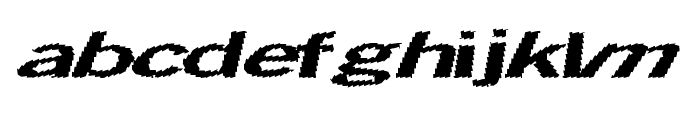 TotalShock Font LOWERCASE