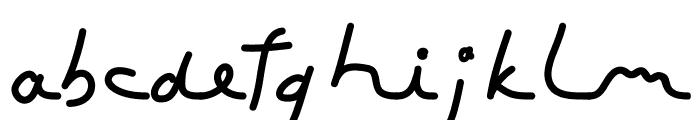 ToubibDemo Bold Font LOWERCASE