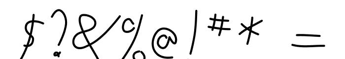ToubibDemo Medium Font OTHER CHARS
