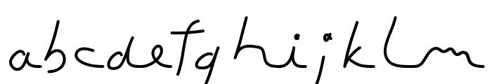 ToubibDemo Medium Font LOWERCASE