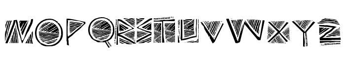 Touppeka Font UPPERCASE