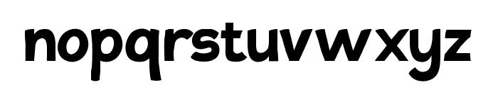 Tovari Sans Bold Font LOWERCASE