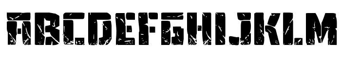Tower Ruins Expanded Font UPPERCASE