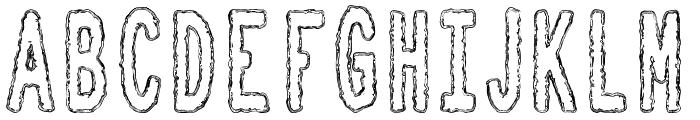 Toxic Waste tfb Font UPPERCASE