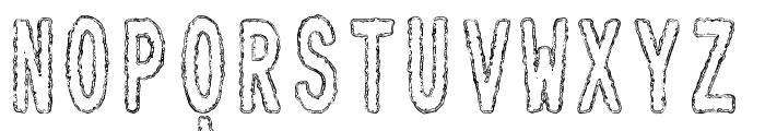 Toxic Waste tfb Font LOWERCASE