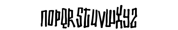 Toxic waist Font LOWERCASE