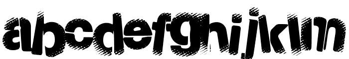 ToxicPowers Font LOWERCASE