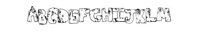 ToxicWaste Font LOWERCASE