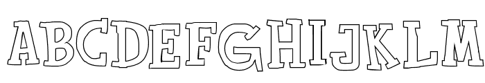 Toy Toy Toon Font UPPERCASE
