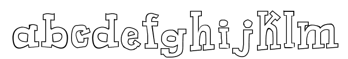 Toy Toy Toon Font LOWERCASE