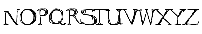 to ogle Font UPPERCASE