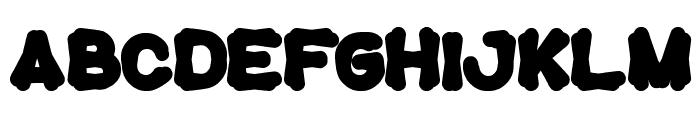 tortoise Font UPPERCASE