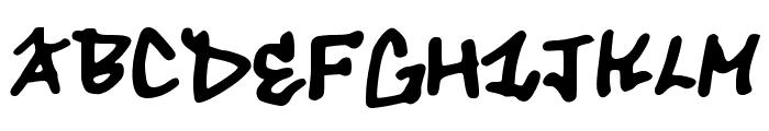 tough_dog Font UPPERCASE