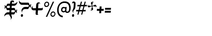 Tobin Tax Regular Font OTHER CHARS