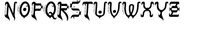 Tobin Tax Regular Font UPPERCASE