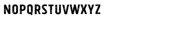 Tolyer X Vintage No1 Font UPPERCASE