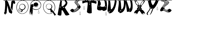 Tommys Type Font LOWERCASE