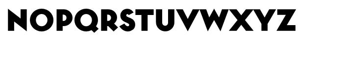 Toronto Subway Black Font UPPERCASE