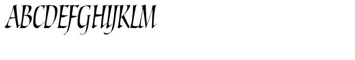 Torquemada One Regular Font UPPERCASE