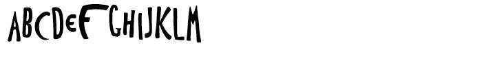 Toulouse Lautrec Pierre Bonnard Font LOWERCASE