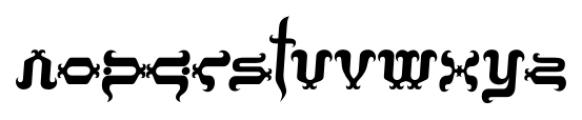 Tobin Tax Regular Font LOWERCASE