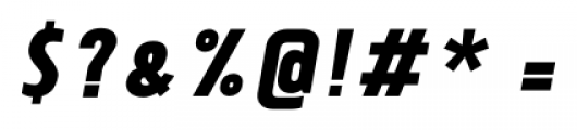 Tolyer No.3 Bold Italic Font OTHER CHARS