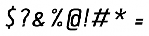 Tolyer No.3 Italic Font OTHER CHARS