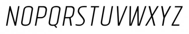 Tolyer No.3 Light Italic Font UPPERCASE