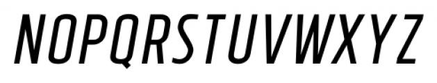 Tolyer No.4 Italic Font UPPERCASE